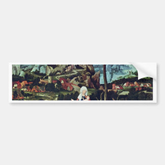 Rest On The Flight To Egypt By Patinir Joachim Be Bumper Sticker