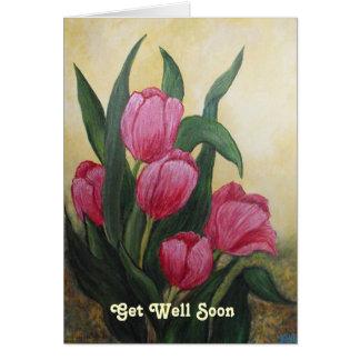 Rest up Relax Feel better Card