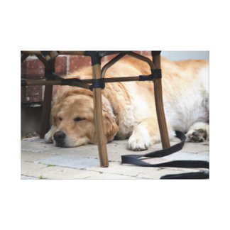 Rest when you can canvas print