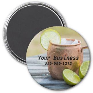 Restaurant Bar Tavern Advertising 7.5 Cm Round Magnet
