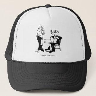 Restaurant Cartoon 4334 Trucker Hat