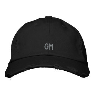 RESTAURANT GENERAL MANAGER EMBROIDERED HAT