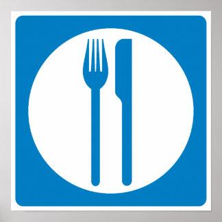 Restaurant Highway Sign