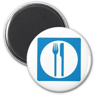 Restaurant Highway Sign Magnets