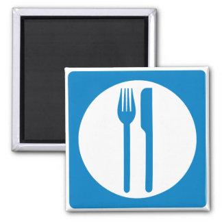 Restaurant Highway Sign Refrigerator Magnet