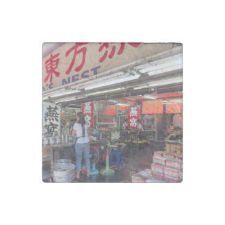 Restaurant in Chinatown Bangkok Stone Magnet