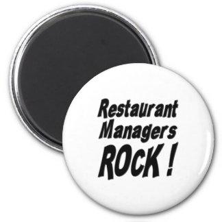 Restaurant Managers Rock! Magnet
