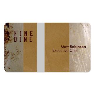 Restaurant Professional Business Card