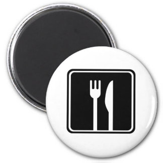 Restaurant Sign Refrigerator Magnets