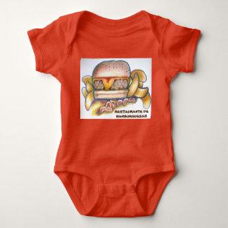 RESTAURANTE DE HAMBURGUESAS BABY BODYSUIT