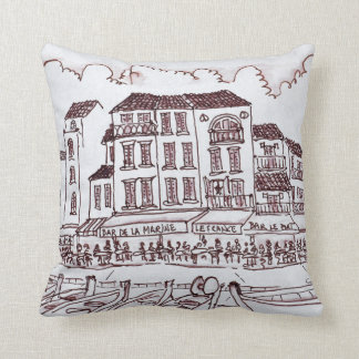 Restaurants Waterfront | Cassis, France Cushion