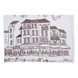 Restaurants Waterfront | Cassis, France Pillowcase