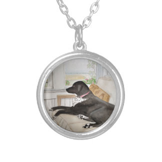 Restfull Sunday Silver Plated Necklace