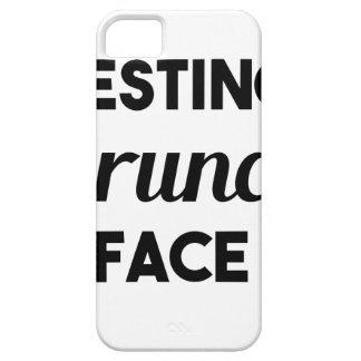 Resting Brunch Face iPhone 5 Case