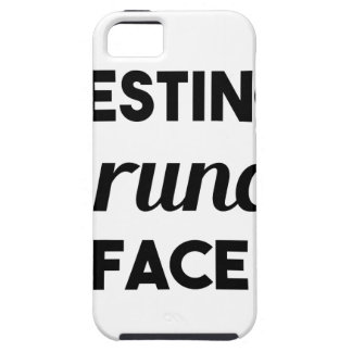 Resting Brunch Face iPhone 5 Cover