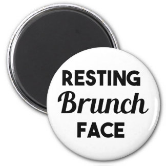 Resting Brunch Face Magnet
