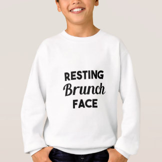 Resting Brunch Face Sweatshirt