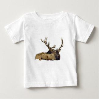 Resting bull elk baby T-Shirt