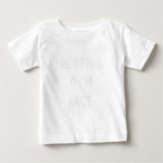 Resting Gym Face Baby T-Shirt