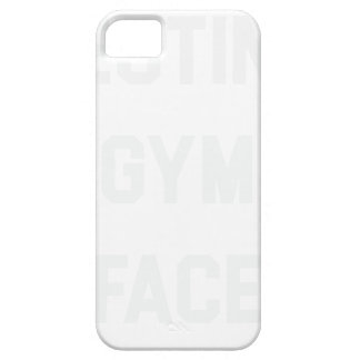 Resting Gym Face Case For The iPhone 5