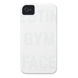 Resting Gym Face iPhone 4 Case