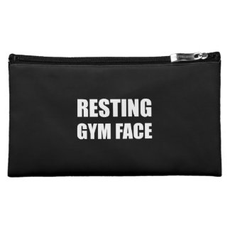 Resting Gym Face Makeup Bag