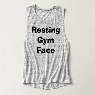 Resting Gym Face Singlet