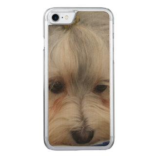 Resting Havanese Dog Carved iPhone 8/7 Case