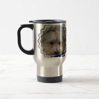 Resting Havanese Dog Travel Mug