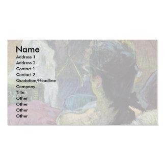 Resting Model By Toulouse-Lautrec Henri De Pack Of Standard Business Cards