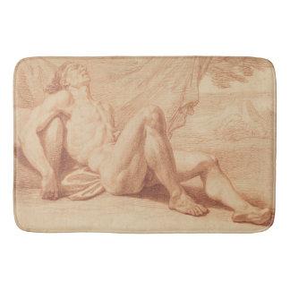 Resting Olympian Bath Mat
