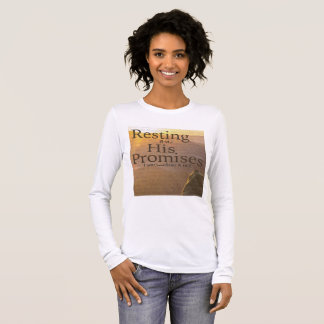 Resting on His Promises Long Sleeve T-Shirt