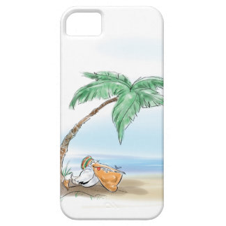 Resting Pelican iPhone 5 Covers