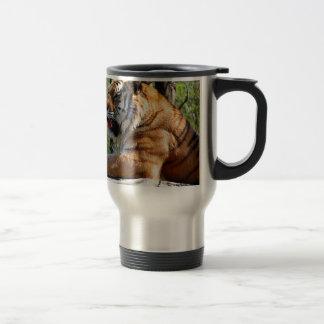 Resting Tiger Travel Mug