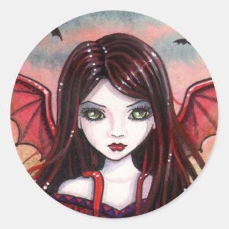 Restless Dusk Vampire Fairy Stickers