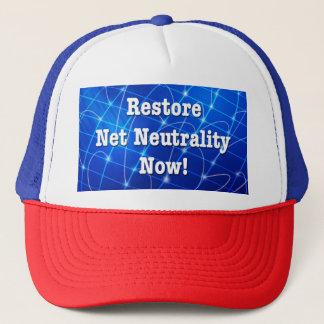 Restore Net Neutrality Now! Trucker Hat