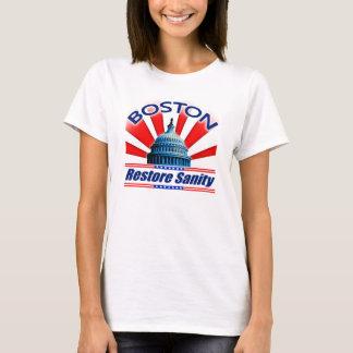 Restore Sanity - Boston T-Shirt