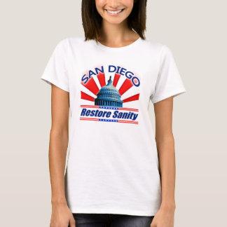Restore Sanity - San Diego T-Shirt