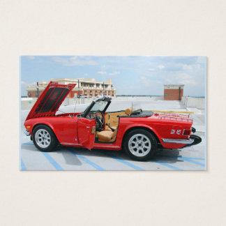 Restored British Sports Car Business Card