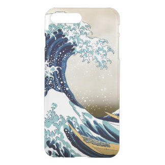 Restored Great Wave off Kanagawa by Hokusai iPhone 7 Plus Case
