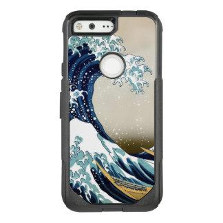 Restored Great Wave off Kanagawa by Hokusai OtterBox Commuter Google Pixel Case