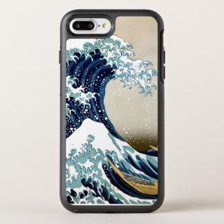Restored Great Wave off Kanagawa by Hokusai OtterBox Symmetry iPhone 8 Plus/7 Plus Case