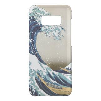 Restored Great Wave off Kanagawa by Hokusai Uncommon Samsung Galaxy S8 Case