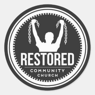Restored Sticker (Breaking Chains)