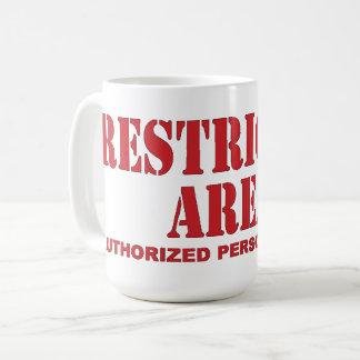 Restricted Area Coffee Mug
