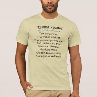 Resume Redone by Ellen Meister T-Shirt