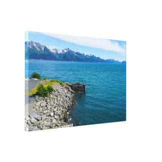 Resurrection Bay Canvas Print