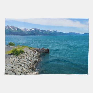 Resurrection Bay Tea Towel