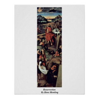 Resurrection By Hans Memling Print