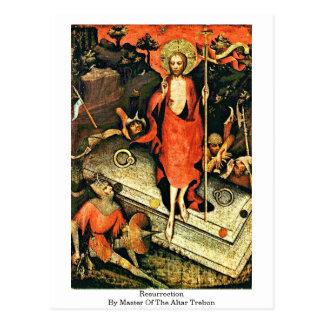Resurrection By Master Of The Altar Trebon Postcard